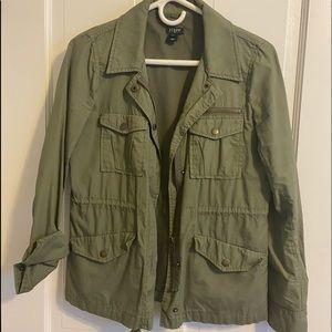 J Crew army jacket